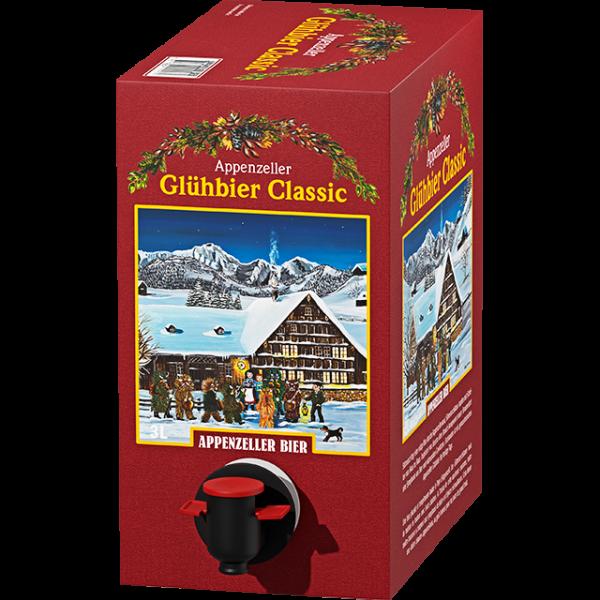 Appenzeller GLÜHBIER CLASSIC 3 Liter / 6 % Schweiz