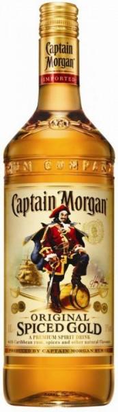 Captain Morgan Grossflasche Original Spiced 3 Liter / 35 % Karibik