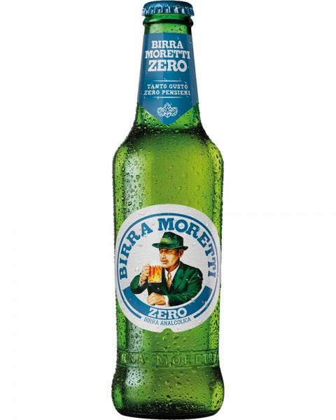 Birra MORETTI ZERO Alkoholfreies Bier 330 ml Italien