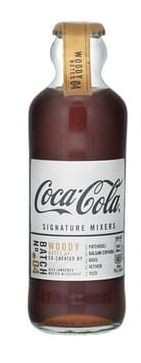 Coca Cola Signature Mixers WOODY 200 ml Belgien