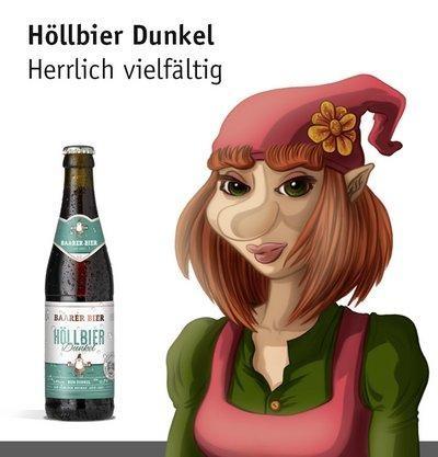 Baarer Höllbier DUNKEL Kiste 24 x 330 ml / 5.0 % Schweiz
