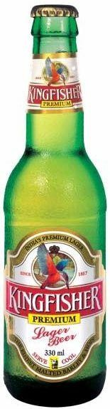 KINGFISHER Premium Lager Bier 330 ml / 4.8 % Indien