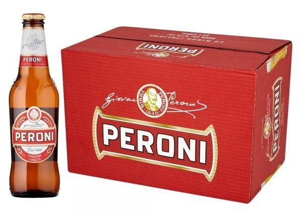Peroni Red Premium Lager Kiste 24 x 330 ml / 4.7 % Italien