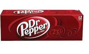 Dr Pepper Case 24 x 355 ml USA