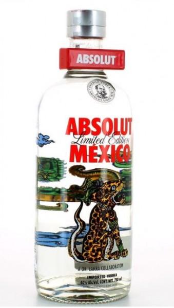 Absolut Vodka MEXICO Limited Edition 75 cl / 40 % Schweden