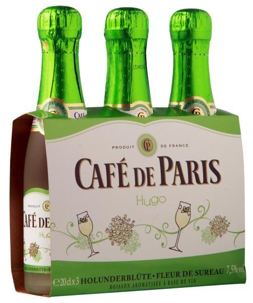 Café de Paris HUGO Sparkling Wine PICCOLO Flasche 20 cl / 7.5 % Deutschland
