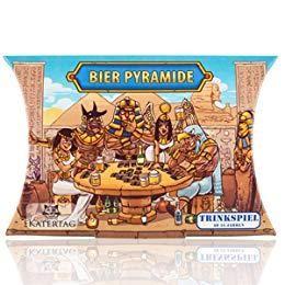 BIER PYRAMIDE das Legendäre Trinkspiel mit 53 Merk & Bluff Karten by Katertag Deutschland