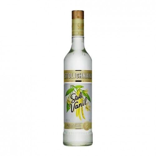 STOLICHNAYA Vodka VANILLA 70 cl / 37.5 % Russland