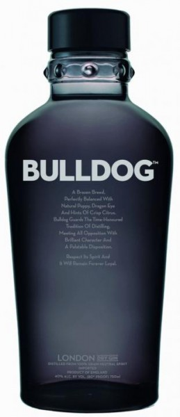 BULLDOG London Dry Gin 100 cl / 40 % UK