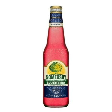 SOMERSBY Cider BLUEBERRY Flasche 330 ml / 4.5 % Schweiz
