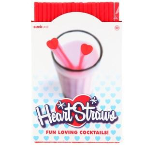 Heart Straws by suck UK 20 Stück per Pack China
