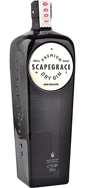 SCAPEGRACE Premium Dry Gin 70 cl / 42.2 % Neuseeland