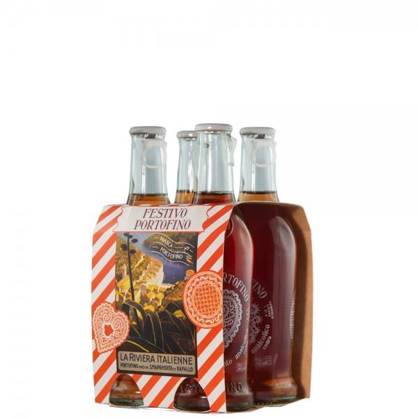 Niasca FESTIVO PORTOFINO Alkoholfreier Aperitif Kiste 24 x 250 ml Italien