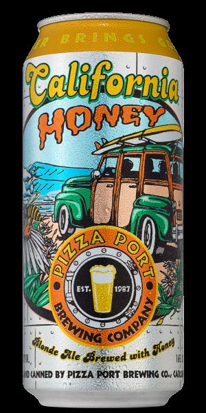 Pizza Port CALIFORNIA HONEY Blonde Ale Dose 473 ml / 4.2 % USA