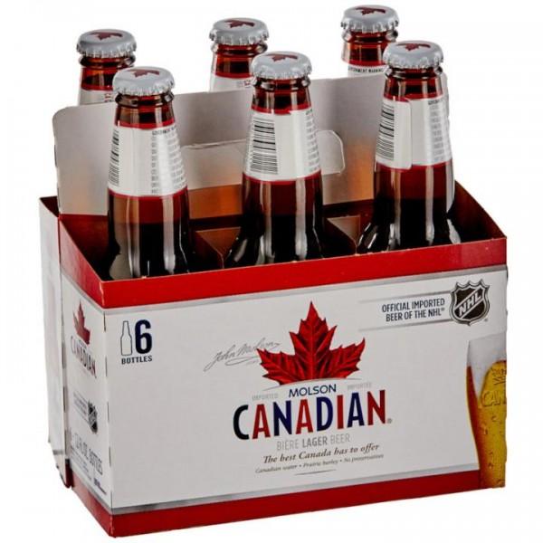 Molson Canadian Bier Case 24 x 330 ml / 5 % Kanada
