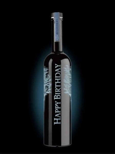 Belvedere Vodka SILVER Sabre BESPOKE Edition inkl. individueller Gravur 175 cl / 40 % Polen