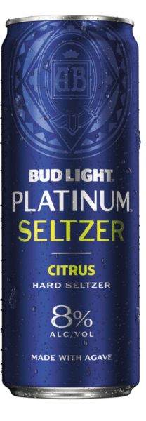Bud Light PLATINUM Hard Seltzer CITRUS 355 ml / 8 % USA