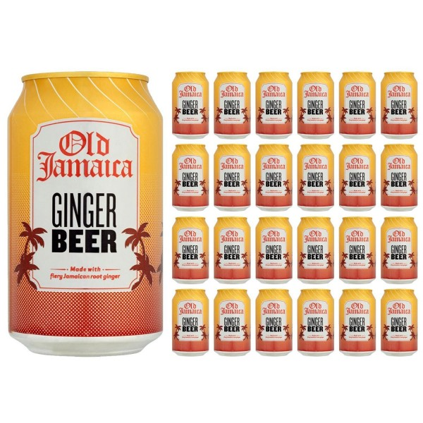 Old Jamaica Ginger Beer Can Case 24 x 330 ml UK
