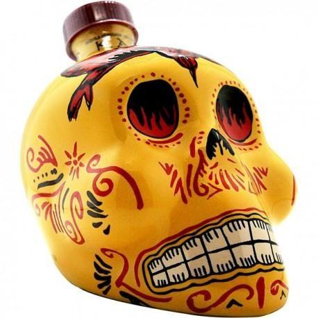 KAH Tequila REPOSADO Skullflasche 75 cl / 40 % Mexico