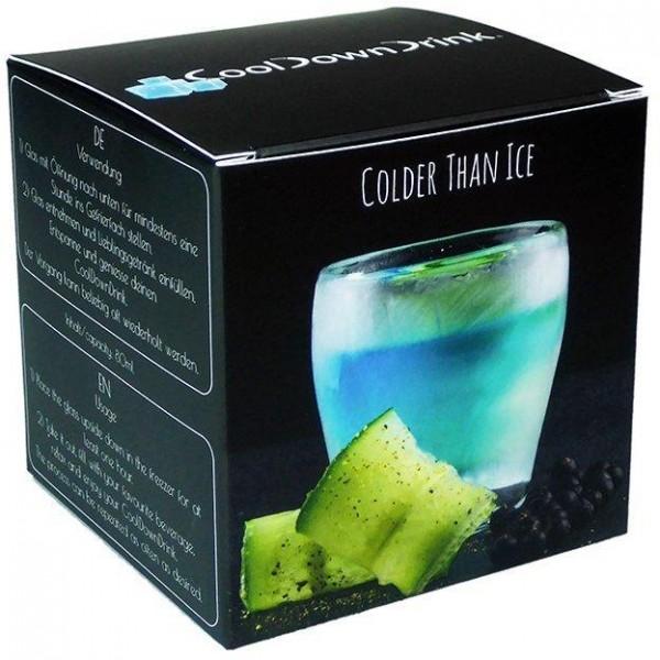 CoolDownDrink Glass SMALL 80 ml Content Handmade Switzerland