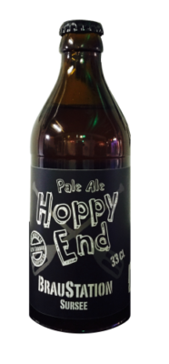 HOPPY END Pale Ale Braustation Sursee Kiste 20 x 330 ml / 5.7 % Schweiz