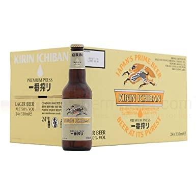 KIRIN ICHIBAN Premium Beer Case 24 x 330 ml / 5 % Japan