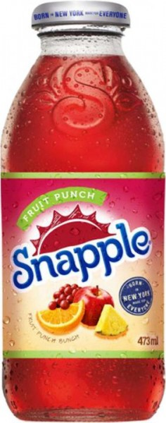 Snapple Fruit Punch Bunch 500 ml Holland