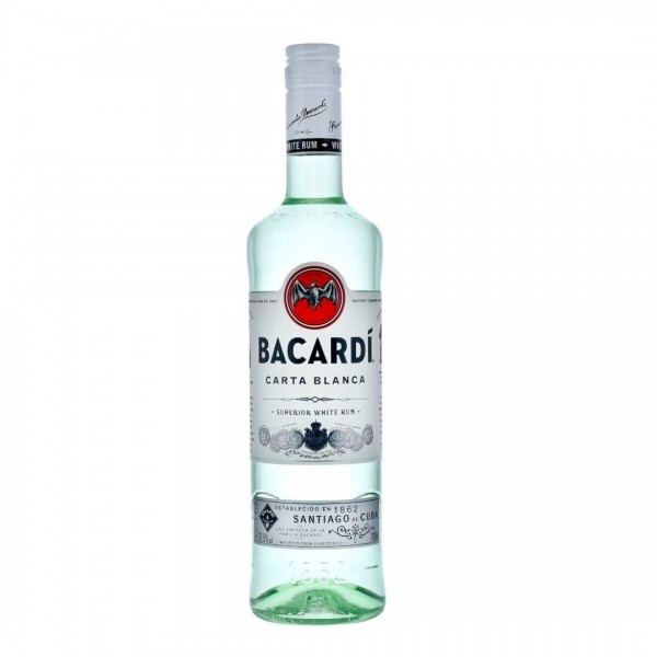 BACARDI Carta Blanca Rum 70 cl / 37.5 % Puerto Rico