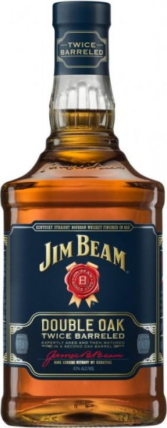 JIM BEAM Double Oak Whiskey 70 cl / 40 % USA