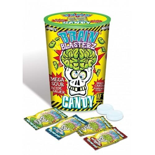 BRAIN BLASTERZ Mega Sour Candys 48 Gramm Pakistan