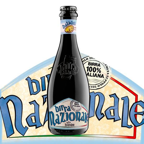 Birra BALADIN NAZIONALE Blond Ale Beer Kiste 24 x 330 ml / 6.5 % Italien