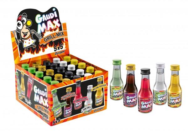 Gaudi Max GRILL Mix 25 x 2 cl / 17 % Deutschland