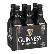 GUINNESS Draught Bier Glasflsche Cace 24 x 330 ml / 4.2 % Irland