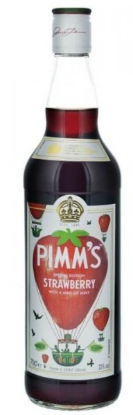 PIMM'S Special Edition Strawberry & Mint Gin- Likör 70 cl / 20 % UK
