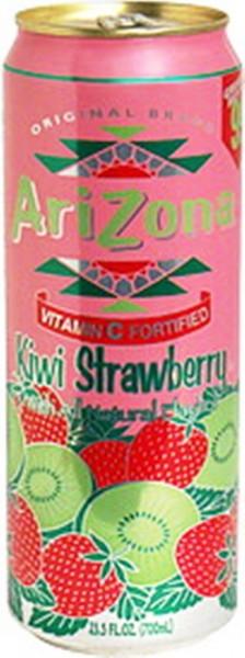 Arizona KIWI - STRAWBERRY Kiste 24 x 680 ml USA