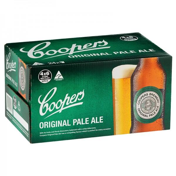 COOPERS Original Pale Ale Kiste 24 x 375 ml / 4.5 % Australien