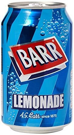 BARR LEMONADE 330 ml UK