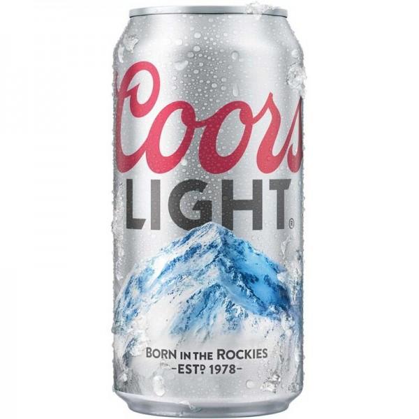 COORS Light Bier Dose 355 ml / 4 % USA