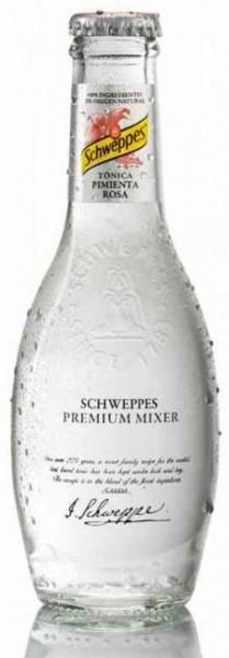 Schweppes Premium Mixer TONIC with Pink Pepper 200 ml Belgien