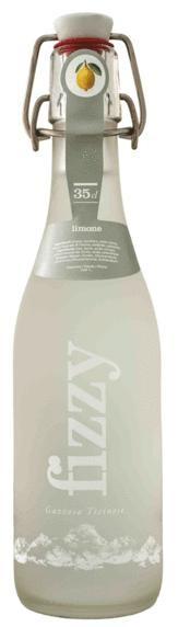 Gazosa FIZZY Limone Glasflsche 20 x 350 ml Schweiz