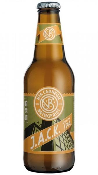 NYA Carnegie J.A.C.K. IPA 330 ml / 4.5 % Schweden