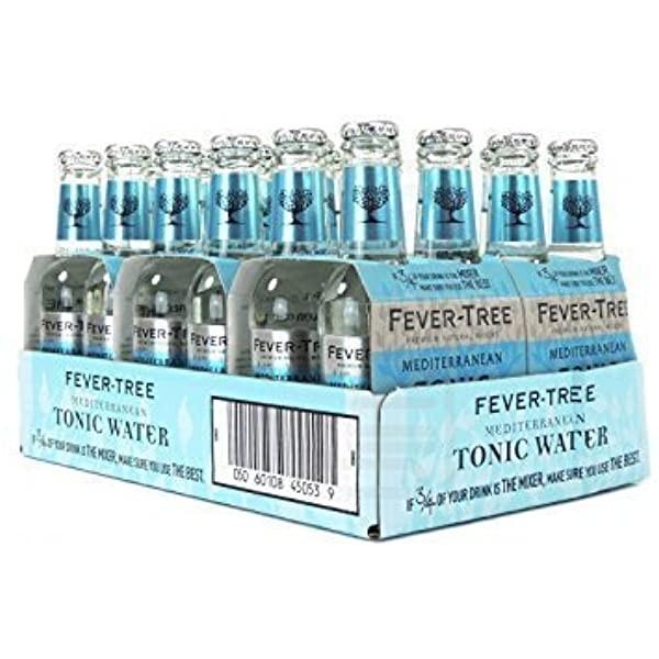 FEVER-TREE MEDITERRANEAN TONIC Water Kiste 24 x 200 ml UK