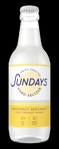 Sundays Hard Seltzer GRAPEFRUIT BERGAMOT 330 ml / 4 % Schweiz