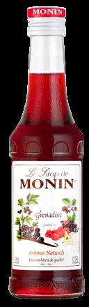 MONIN Premium Grenadine Sirup Kleinflasche 25 cl Frankreich