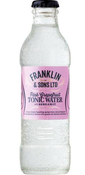 Franklin & Sons PINK GRAPEFRUIT TONIC Water 200 ml UK