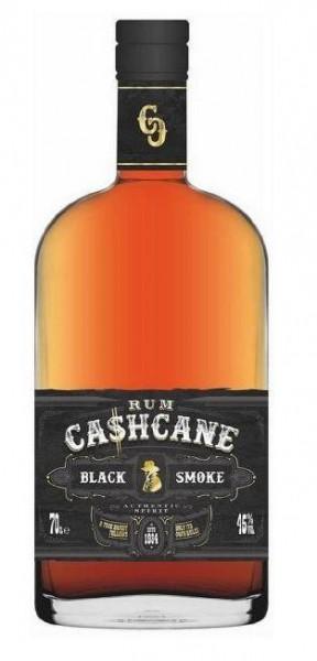 Cashcane BLACK SMOKE Rum 70 cl / 45 % Karibik
