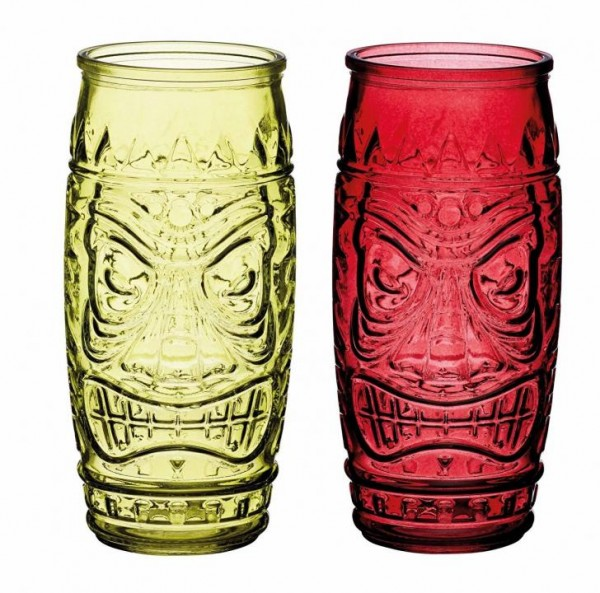 TIKI Glass Gift Set 2 x 300 ml by BarCraft
