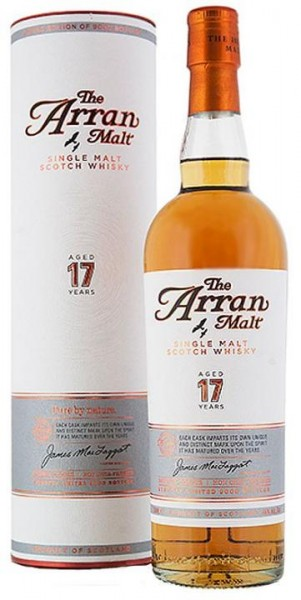 The Arran Single Malt Scotch Whisky 17 Jahre 70 cl / 46 % Schottland