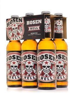 HOSEN Hell Bier der Toten Hosen 330 cl / 5.2 % Deutschland