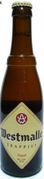 Westmalle Tripel Trappisten Bier 330 ml / 9.5 % Belgien